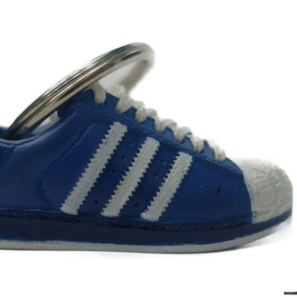 Adidas Superstar Original(BlueYellow) 3D Keychain Boutique